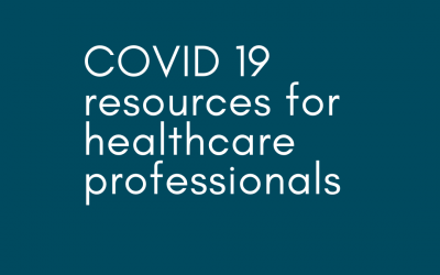 COVID 19 resources for healthcare professionals